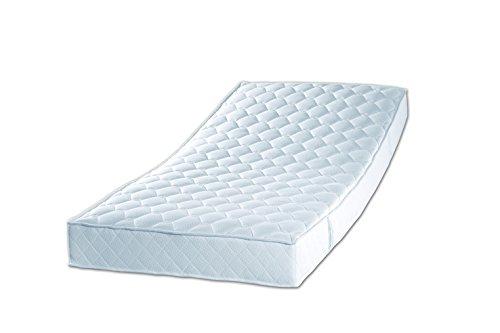 Sleepdream 7-Zonen-Tonnentaschenfederkern-Matratze, Polyester-Viskose, weiss