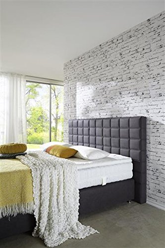 Breckle Boxspringbett 100 x 200 cm Big Ben Box Stauraum 1000 TFK Big Topper Gel Premium Comfort