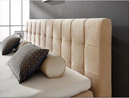 Breckle Boxspringbett 100 x 200 cm Calvadore Box Stauraum 1000 TFK Big Topper Gel Premium Comfort