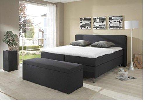 Breckle Boxspringbett 120 x 200 cm Cozy Box Miodormio TFK 1000 Formschaummatratze My Balance 20 Topper Gel Premium Comfort