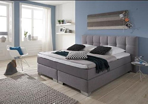 Breckle Boxspringbett 120 x 200 cm Dorinta Box Born Hollanda TFK Topper Kaltschaum Comfort