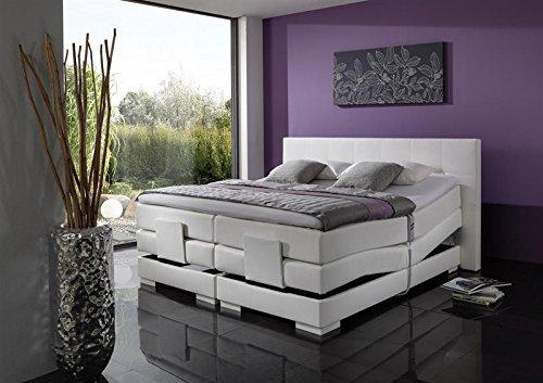 Breckle Boxspringbett 120 x 200 cm Oxford Box Stauraum 1000 TFK Big Topper Gel Premium Comfort