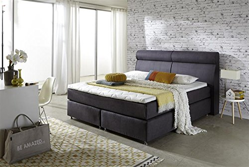 Breckle Boxspringbett 120 x 200 cm Topas Box Elektro Inspiration Hollanda TFK Topper Gel Comfort