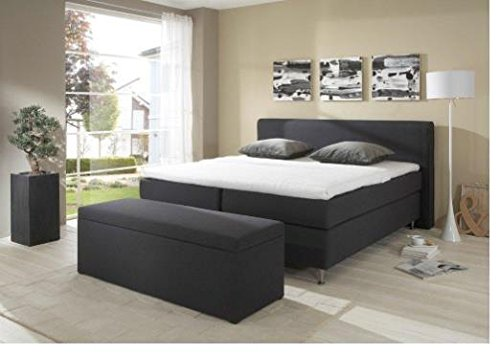 Breckle Boxspringbett 160 x 200 cm Cozy Box Mero Easy Big Bonnell Topper Gel Standard