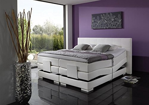 Breckle Boxspringbett 180 x 200 cm Oxford Box Split Hollanda 1000 TFK Topper Gel Premium Standard