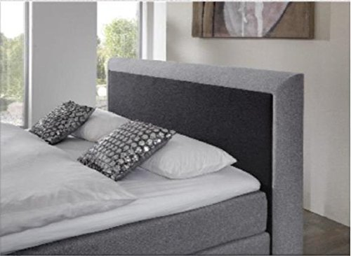 Breckle Boxspringbett 200 x 200 cm Spirit Box Elektro Inspiration Hollanda TFK Topper Gel Comfort