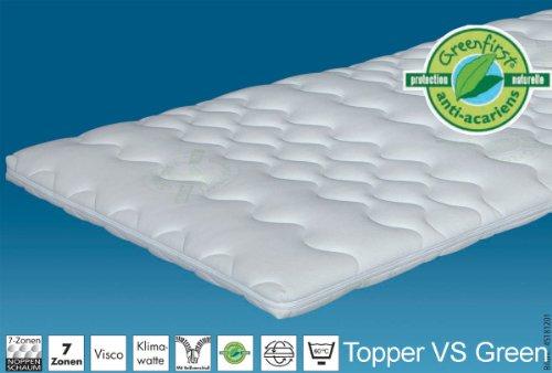 Hn8 Topper VS Green - 100x220* cm Matratzenauflage / Topper, *Sonderanferti...