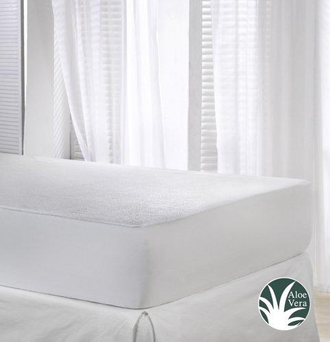 VELFONT – Matratzenschoner Aloe Vera, Wasserdicht und Atmungsaktiv – Verfügbar in verschiedenen Größen