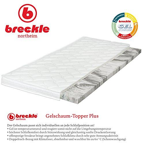 Breckle Gelschaum-Topper Plus, Größe:100x200 cm