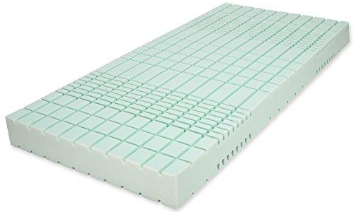 Matratzenheld 3D Würfel-Kaltschaummatratze Artus 90x200, medium - H2 bis 80 kg, Ergonomische 7 Zonen Kaltschaum Matratze, RG 40, Höhe 18 cm, Made in Germany, Bezug waschbar bei 60° C, in H2 und H3 erhältlich