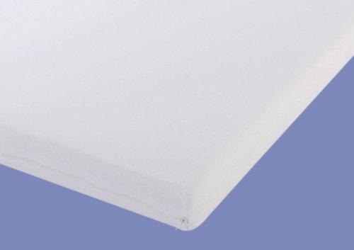 Gel / Gelschaum Matratzen Topper Relax Höhe 4 oder 5 cm, 80 / 90 / 100 x 190 / 200 cm Auflage für Matratze, Matratzenauflage soft / weich inkl. Baumwollbezug Gelauflage günstig