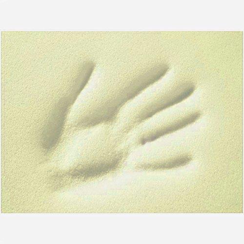 Viscoelastische Matratzenauflage 4 cm Visco Matratzen - Auflage ohne Bezug - Grösse 180x200