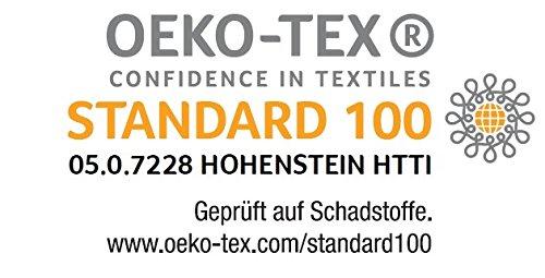 sleepling 190143 Matratze Comfort 130 TFK Härtegrad 2 90 x 200 cm, weiß