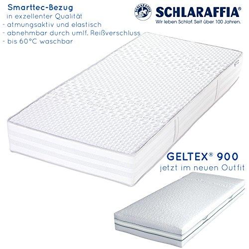 Schlaraffia Geltex 900 Bultex Matratze 100x200 H3
