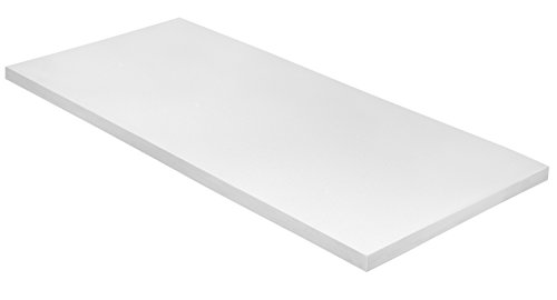 sleepling 19000000169 Topper Basic Kaltschaum 90 x 200 cm, weiß