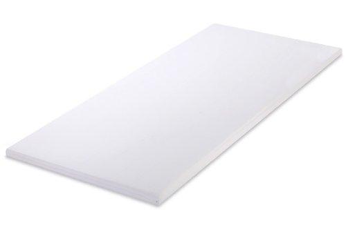 MSS 100700-PR-200.90.5 Soft Matratzenauflage-/Topper mit Bezug, 200 x 90 cm