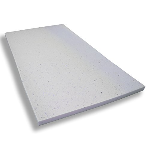 Gelschaumtopper ohne Bezug Betten-ABC® MaGeTo-5 Orthopädische Gelschaum - Passt sich dem Körper an - Grösse 80x200