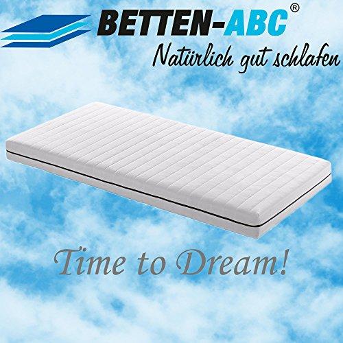 Betten-ABC ABC-Dream, Orthopädische 7-Zonen Kaltschaummatratze, Raumgewicht RG 30, Höhe 13 cm, Härtegrad H 2,5, abnehmbarer, waschbarer Bezug, Größe 120 x 200 cm