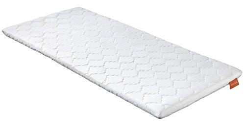 sleepling 190173 Topper Basic Viscoschaum RG 50 orthopädische Matratzenauflage 100 x 200 x 6 cm, weiß