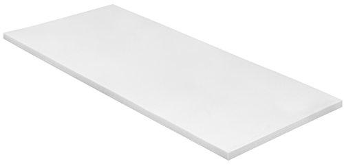 sleepling 190174 Topper Basic Viscoschaum RG 50 orthopädische Matratzenauflage 140 x 200 x 6 cm, weiß