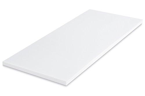 MSS 100200-200.100.5 Viscoelastische Matratzenauflage, ohne Bezug, RG50, 100 x 200 x 5 cm