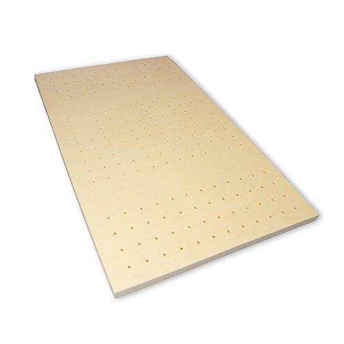 Memory 6 Breckle Visco Topper Belüftungskanälen 6 cm Visco Kern Bezug waschbar Gesamthöhe 7 cm - Grösse 180x200