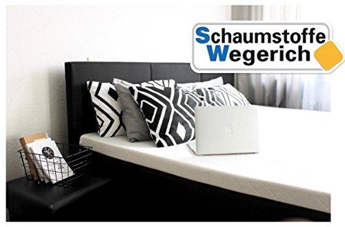 SW Bedding Viscoelastische Matratzenauflage 200 x 70 x 7cm H2 mit Bezug medicare Boxspringbett Auflage - 120 Tage Probeschlafen