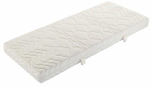 Badenia Bettcomfort Tonnentaschenfedernmatratze Trendline BT 200 H3, 100 x 200 cm, weiß