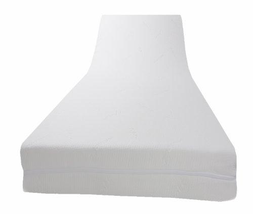 Dibapur® - PLATINUM VISCO TOPPER mit medicott® Bezug - Viscoelastische Matratzenauflage (H3 medicott 90x200x8)