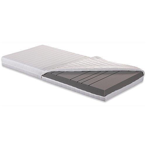 Betten-ABC OrthoMatra KSP-500 XXL, Orthopädische 7-Zonen Kaltschaummatratze, Härtegrad H4, Gesamthöhe 16 cm, abnehmbarer und waschbarer Bezug, Größe: 100 x 200 cm