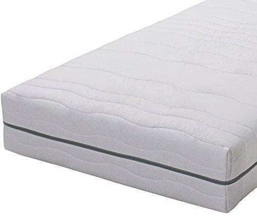 Gigapur Atlanta 28626 | 7-Zonen Kaltschaummatratze H3 | Komfort Schaumstoff-Matratze | Geeignet für Doppelbett und Einzelbett | 90 x 200 x 25 cm