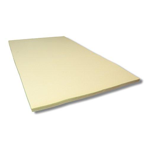 Viscoelastische Matratzenauflage 4 cm Visco Matratzen - Auflage ohne Bezug - Grösse 90x190