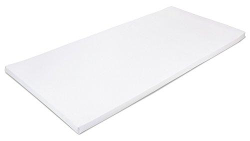 MSS 100300-200.100.5 Viscoelastische Matratzenauflage, RG50 mit Bezug, 100 x 200 x 5 cm
