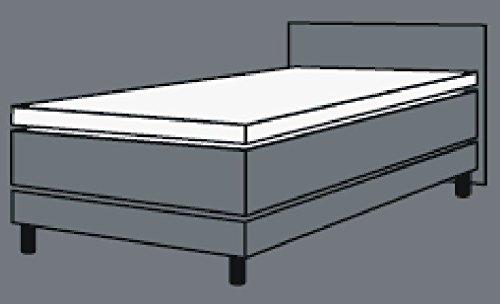 """Breckle GEL TOPPER """"Ortho Gel"""" von Betten-Traum-Land mit hochwertigem BRECKLE Gelschaum - Matratzenauflage Auflage mit abnehmbaren Bezug (90x200 cm)"""