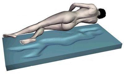 Gel / Gelschaum Matratzenauflage Topper Höhe 9 cm, 180 x 200 cm , mit Amicor pure Bezug, Auflage für Matratze soft / weich = Schlafen wie auf einem Wasserbett ohne seine Nachteile