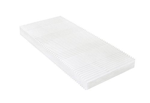 7-Zonen Matratze, Härtegrad H2 H3 (Weiß), Kaltschaummatratze, Rollmatratze, Doppeltuchbezug waschbar,4-Seiten-Reißverschluss, Öko-Tex Standard 100