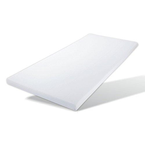 Viscoelastischer Matratzen - Topper / Matratzenauflage Höhe 7 cm (100 x 200 cm)