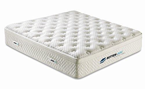 Betten-ABC Boxxi Boxspringmatratze mit hochwertigem Gelschaum, zwei Federkernschichten, Gelschaumtopper, exclusiver weicher Bezug, Gesamthöhe  32 cm, Größe 140 x 200 cm