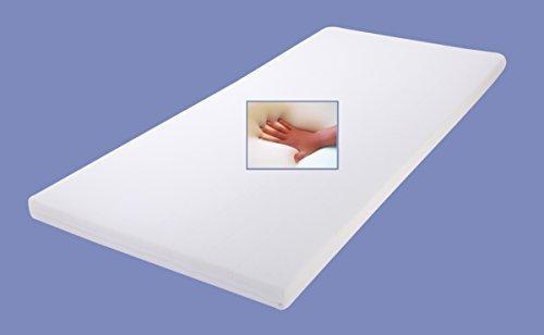 Gel / Gelschaum Matratzen Topper Relax Höhe 4 oder 5 cm, 120 / 140 / 160 x 200 cm Auflage für Matratze, Matratzenauflage soft / weich inkl. Baumwollbezug Gelauflage günstig