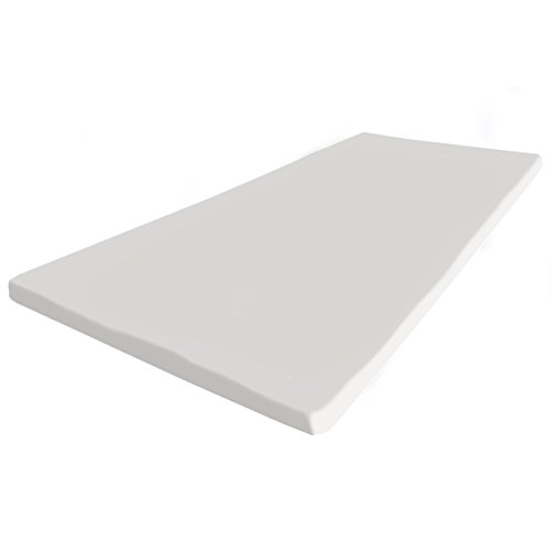 supply24 121b Gel / Gelschaum Matratzenauflage Topper 180 x 200 cm Höhe 5 cm Auflage für Matratze mit abnehmbaren Baumwollbezug