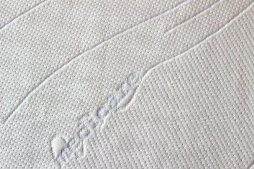 Viscoelastische Matratzenauflage 200 x 100 x 5cm H2 mit Bezug medicare