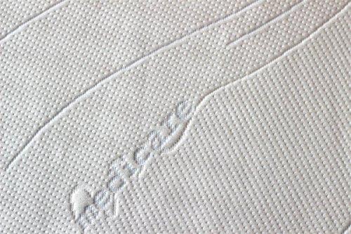 SW Bedding Topper Viscoelastische Matratzenauflage 100 x 200 x 9 cm H2 mit Bezug medicare - 30 Tage Probeschlafen