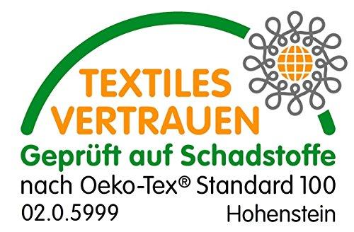 Waldkind 498317 Visco Matratzentopper Viscoelastische Matratzenazflage, Matratzenschoner, Polyester, weiß, 200 x 100 x 5 cm