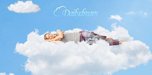 DAILYDREAM® Viscoelastische, orthopädische Matratzenauflage mit Memory Foam Effekt, RG 50, Größe 140 x 200 x 5cm
