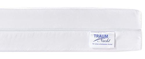 Traumnacht Easy Comfort Rollmatratze Härtegrad 2 (H2), 140 x 200 cm, weiß