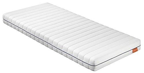 sleepling 190139 Matratze Basic 70 Kaltschaum - Härtegrad 2 140 x 200 cm, weiß
