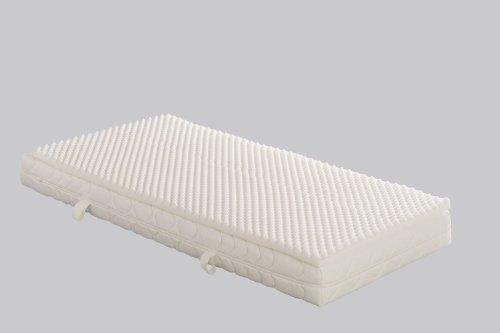Badenia Bettcomfort Matratzenauflage Senso mit Noppenstruktur, ca. 180 x 200 cm, weiß