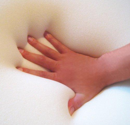 Gel / Gelschaum Matratzenauflage Topper Höhe 12 cm, 140 x 200 cm mit Amicor pure Bezug, Auflage für Matratze soft / weich = Schlafen wie auf einem Wasserbett ohne seine Nachteile