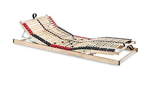 Betten-ABC Superflex Elektro, Lattenrost mit elektrischer Kopf- und Fußteilverstellung, 7 Zonen