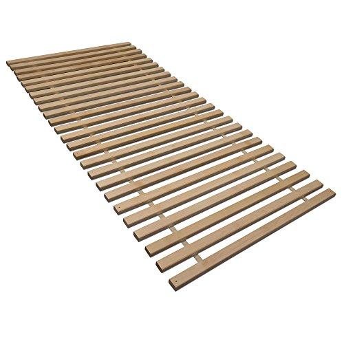 Madera Rollrost XXL mit 25 extra stabilen Leisten aus massiven Birkenholz, belastbar bis ca. 280 kg